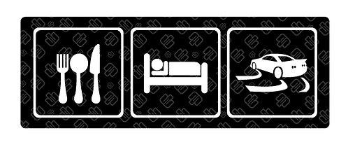 Eat Sleep Drift Symbol 13cm