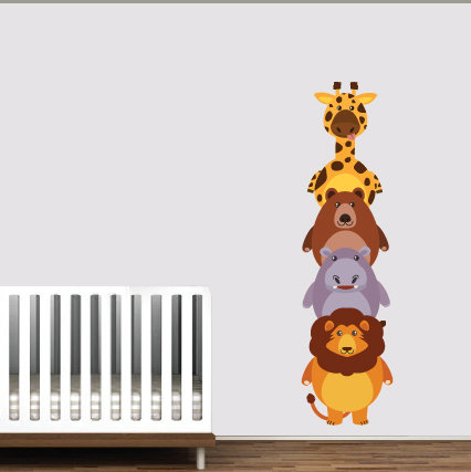 Αυτοκόλλητο Τοίχου - Παιδικό Δωμάτιο
