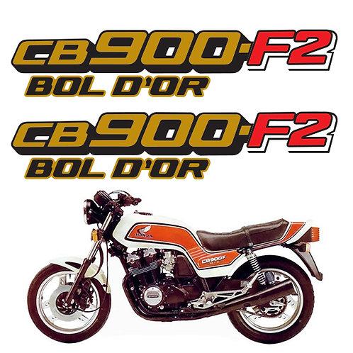 Honda CB900 f2 BOL D'OR set