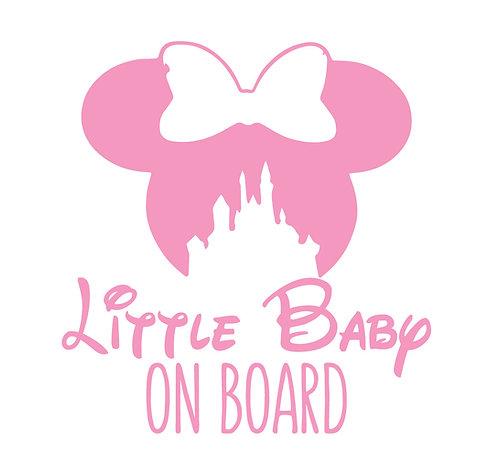 Sticker Little Baby on Board