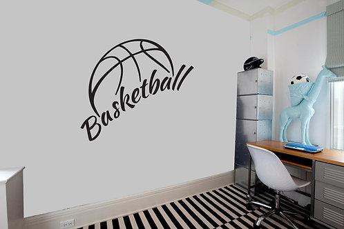 """Αυτοκόλλητο Τοίχου """"Basketball"""""""