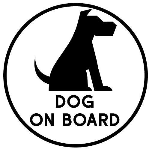 Sticker Dog on Board