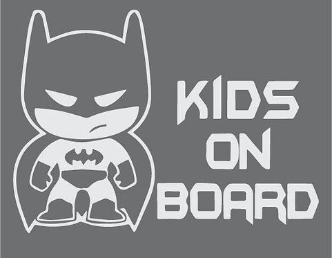 Sticker Kids on Board