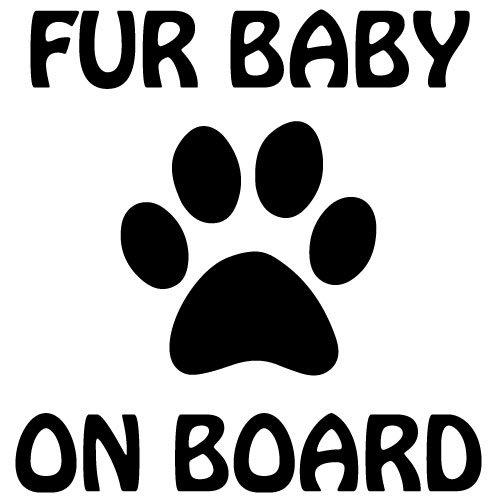 Sticker Fur Baby on Board