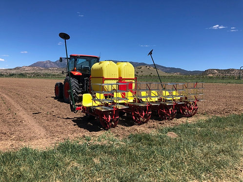 Mechanical Transplanter - Peat Pot Transplanter