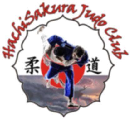 HachiSakura Judo Club logo