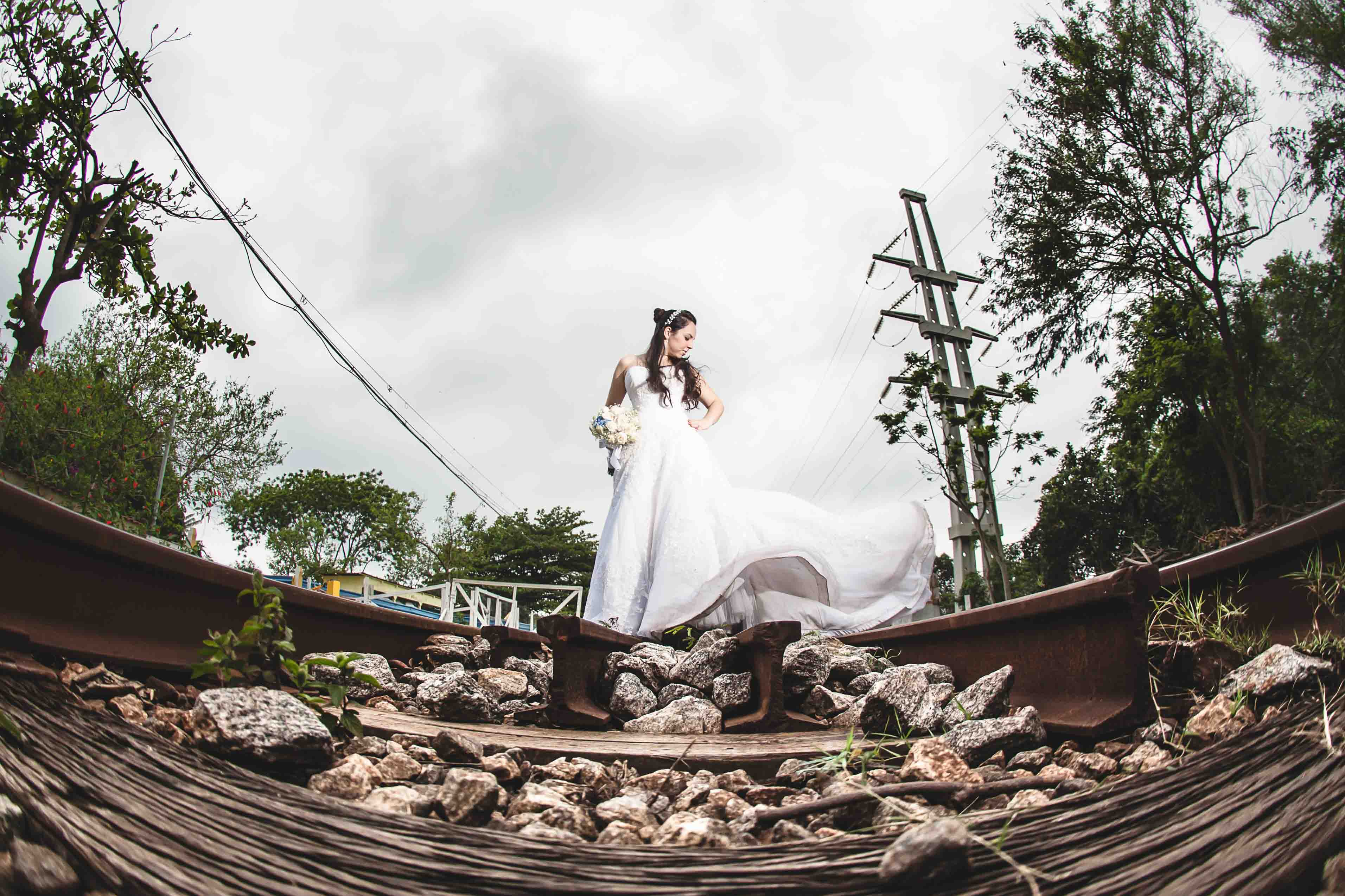 Fotografia Trash The Dress