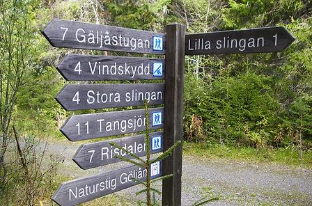 Signpost Fulufjället