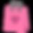 Coeur rose sac-cadeau