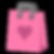 Pink Heart Gift Bag