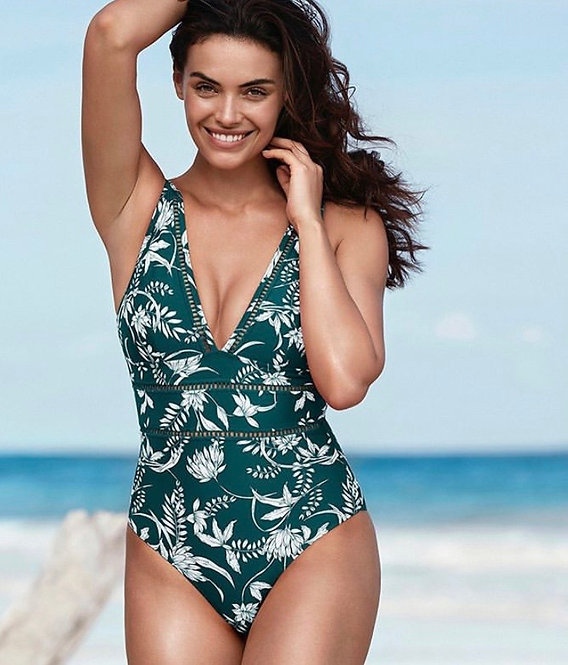 emerald green swimsuit maui one piece | sea level australia