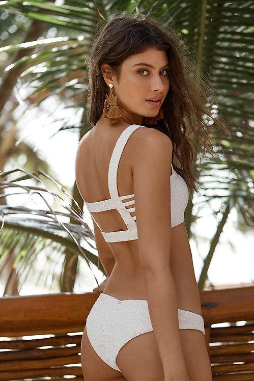 white bikini bottoms