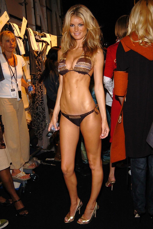 Bikini top and cheeky bikini bottoms