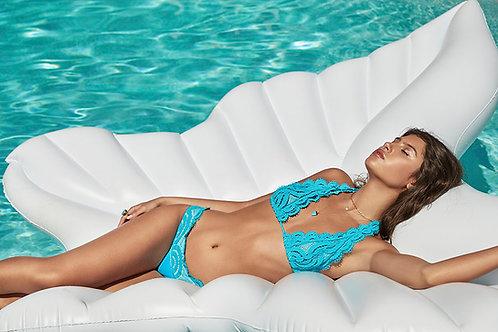 lace bikini top blue pilyq