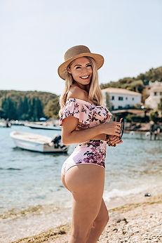 Georgina Stokes for Sun Vixen Swimwear