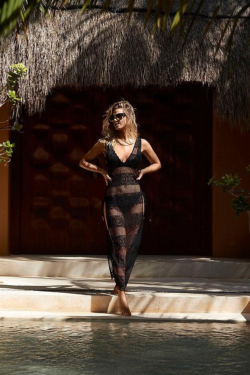 Black Joy Lace Cover Up PilyQ