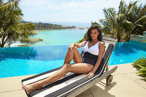 black and white bathing suit majorca sea level australia