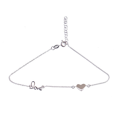 Hearts in Love Anklet