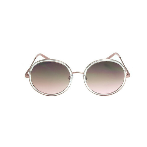 Rounded Rose Sunglasses