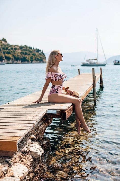 Designer One Piece Swimsuit Georgina Sto