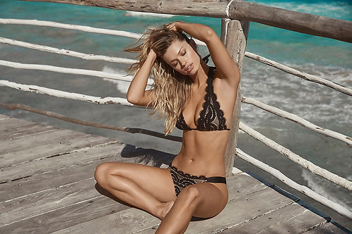 bikini bottoms black pilyq