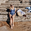 Navy spliced One piece swimsuit sea level australia
