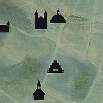 """Mapping×Searching"" 2015 (Viborg, Denmark) by Takehiro Mizumoto 水本剛廣 デンマークのアーティスト・イン・レジデンスで制作"
