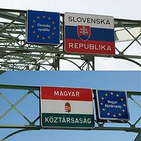 """""""Invisible Bridge"""" 2009 (Sturovo, Slovakia & Esztergom, Hungary) by Takehiro Mizumoto 水本剛廣 スロヴァキアのアーティスト・イン・レジデンスで制作"""