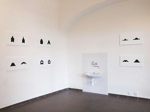"""""""Invisible Bridge"""" by Takehiro Mizumoto at Bridge Guard Residential Art / Science Centre, Štúrovo, Slovakia 2009"""