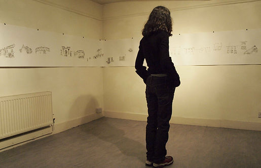 """""""Shadows in Shandon"""" by Takehiro Mizumoto at The Guesthouse Residency Programme, Cork, Ireland 2013"""