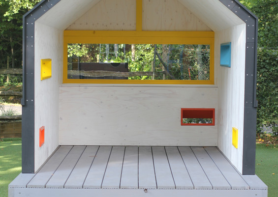 Play Shed interior