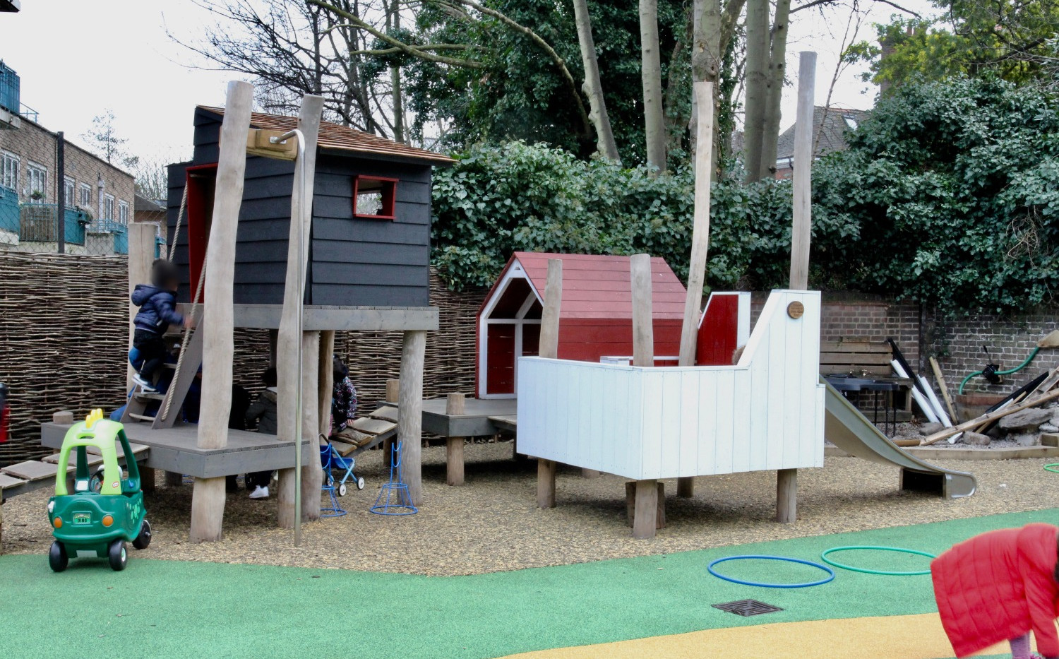 Nursery Village - The Rosary Primary School in collaboration with Metropolitan Workshop Architects