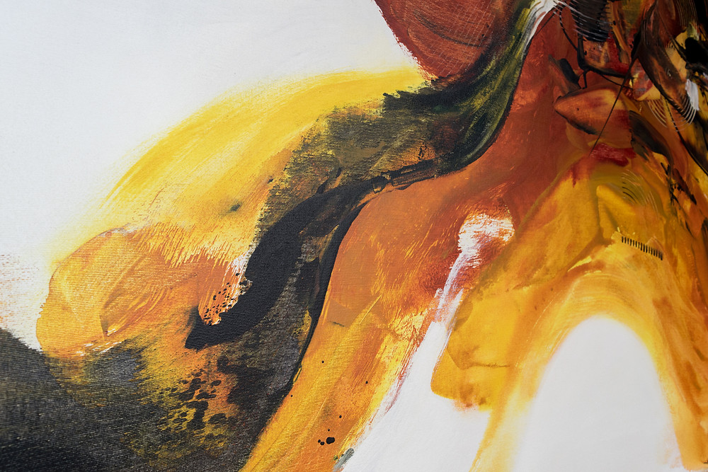 Pintura Abstrata Em Tela 150 cm X 100 cm