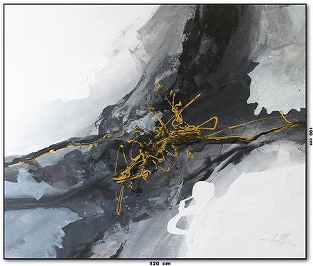 Pintura Abstrata Óleo Sobre Tela 120 cm X 100 cm