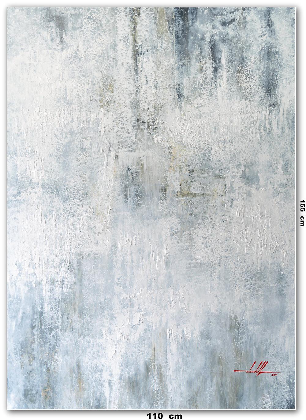 Tela Abstrata Tendendo Ao Branco