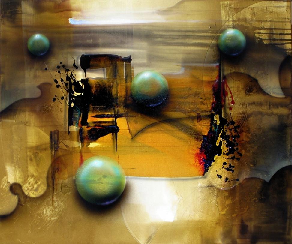 Quadro Abstrato em Tela