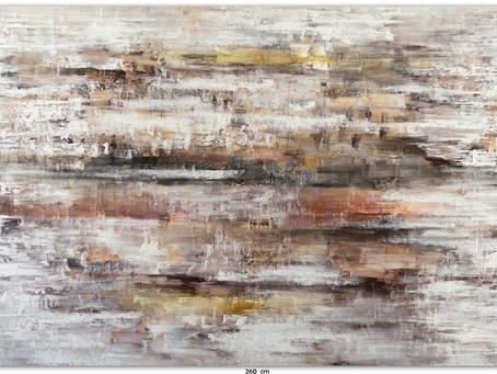 Quadro Abstrato 2,60 M x 1,50 M