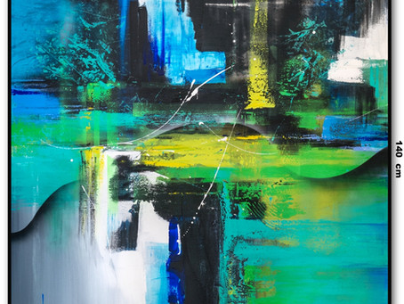 Quadro Abstrato 1,20 M x 1,40 M