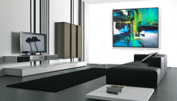 Pintura Abstrata em Tela 140 cm x 120 cm 3