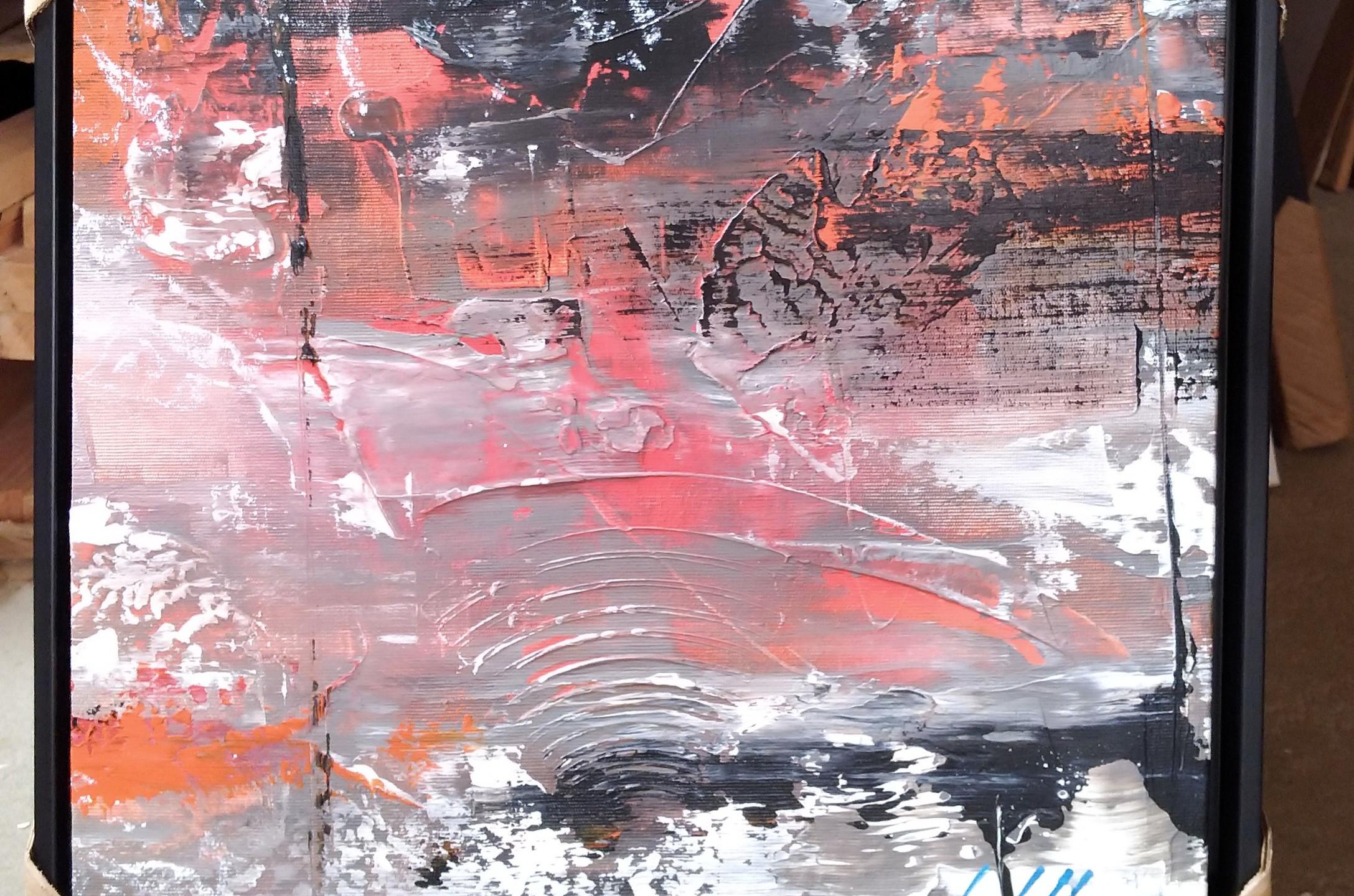 Quadros Abstratos Em Pequenos Formatos (
