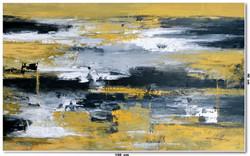 Tela Abstrata Em Óleo 150 cm X 90 cm