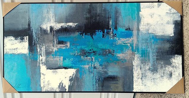 Quadro Abstratos Para Conceicao 1,80 M x 0,90 M