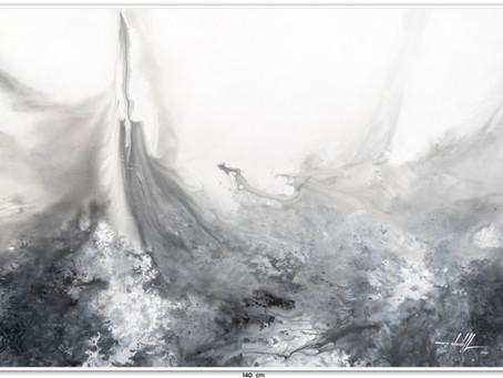 Quadro Abstrato 1,40 M x 1 M