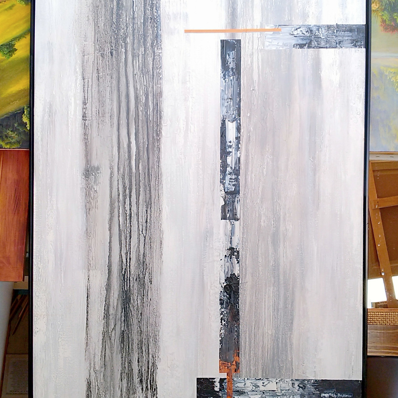 Pares De Quadros Abstratos Grandes (8)