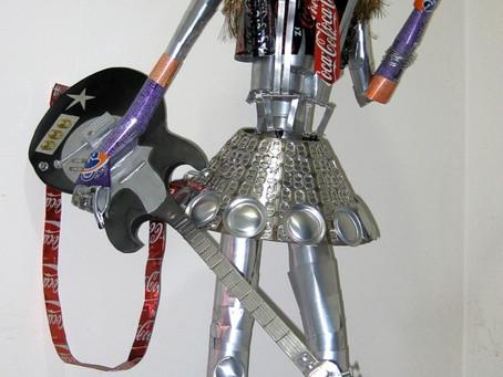 Escultura - Rock Star