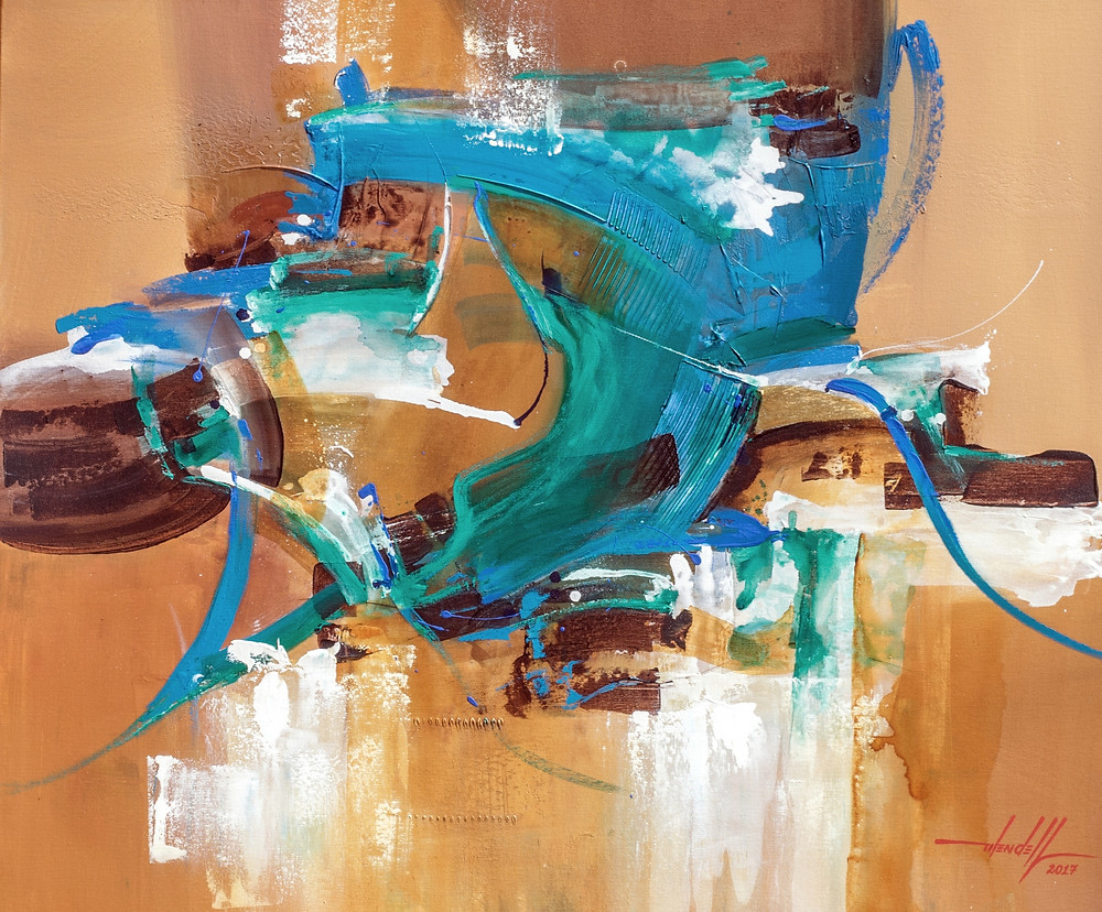 Pintura Moderna - Telas Abstratas a Venda