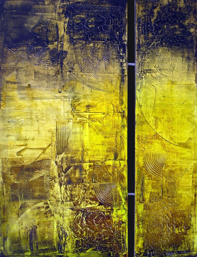 Pintura em Tela com Textura