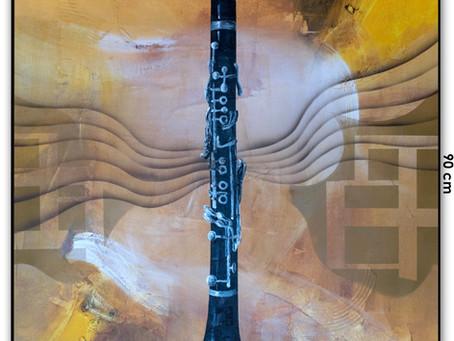 Pintura Figurativa Contemporânea - O Clarinete