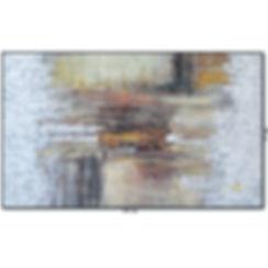 Tela Abstrata Para Quadro De 1,70 m X 1