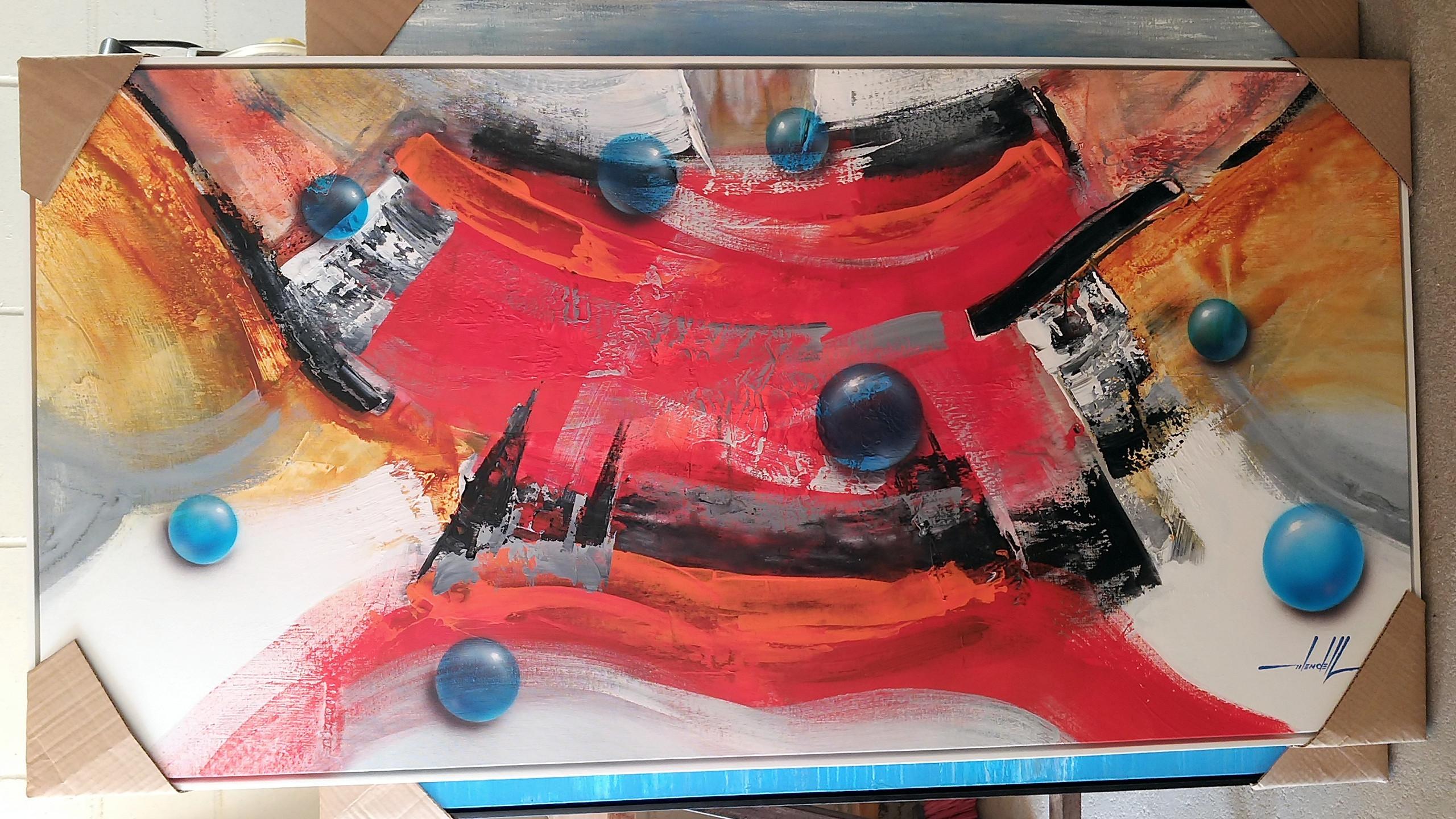 Quadros Abstratos Para Apartamento  (12)
